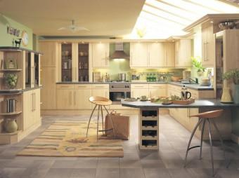 Как да създадете удобна кухня в къщата