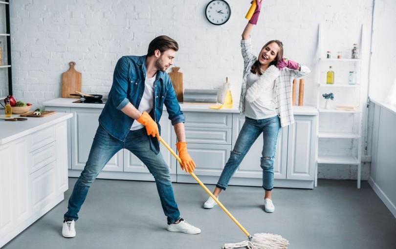 Как да почистите апартамента бързо
